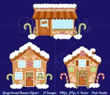 Gingerbread House Clipart, Gingerbread House Clip Art