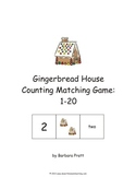Gingerbread House Counting Matching Game: 1-20 eBook
