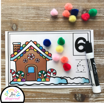 Gingerbread House Counting Mats 1 - 20