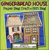 Gingerbread House Craft --- Gingerbread House Paper Bag Cr