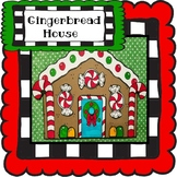 Gingerbread House Craft, Holiday Craft, December Craft!