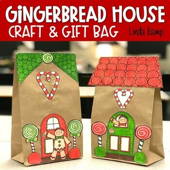 Gingerbread House Craft and Gift Bag