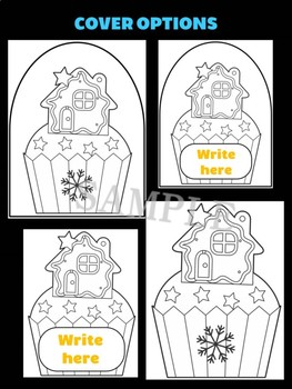 Gingerbread House Cupcake - Jackie's Crafts, Winter Activities, Christmas