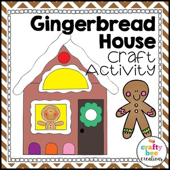 Gingerbread House Cut and Paste