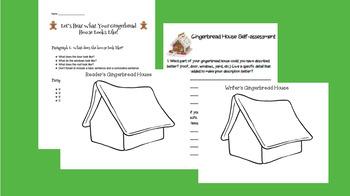 Gingerbread House Descriptive Writing