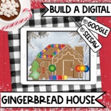 Gingerbread House Building Digital Decorating Activity | G