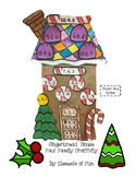 Gingerbread House Fact Family Craftivity