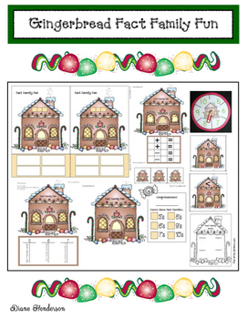 Gingerbread Activities: Gingerbread House Fact Family Fun