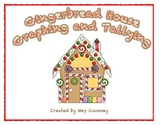 Gingerbread House Graph Tally and Analyze Writing Independent Center