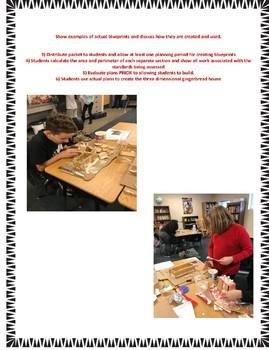 Gingerbread House Math Test