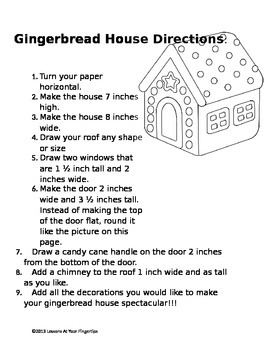 Gingerbread House Measurement