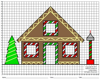Gingerbread House Mystery Picture