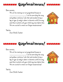 Gingerbread House Note