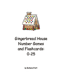 Gingerbread House Number Game and Flashcards: 0-25 eBook