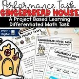 Gingerbread Math Performance Task | Winter Activities