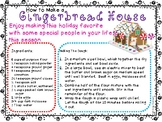 Gingerbread House Recipe and Questions for RI3