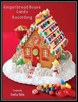 Gingerbread House Recording Sheet