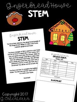 Gingerbread House STEM