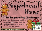 Gingerbread House ~ STEM Engineering Challenges Pack ~ Chr