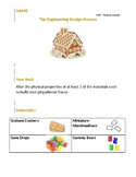 Gingerbread House STEM project