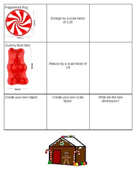Gingerbread House Scale Factor