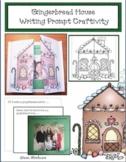 Gingerbread House Writing Prompt Craft