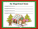 Gingerbread House Writing Template