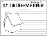 Gingerbread House and Christmas Tradition Writing