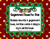 Gingerbread House for Sale Activity