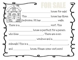 Gingerbread House for Sale Writing Prompt