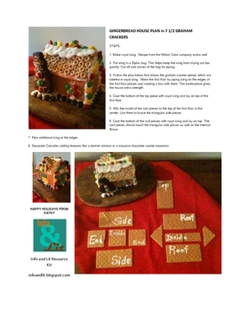 Gingerbread House in 7-and-a-half graham crackers