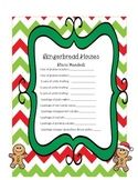 Gingerbread Houses Item Sign Ups