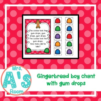 Gingerbread How Many Hiding? Circle Time Game