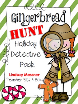 Gingerbread Hunt {Holiday Detective Pack}