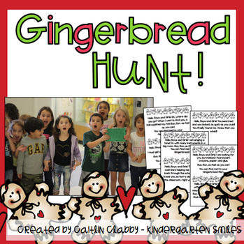 Gingerbread Hunt Signs