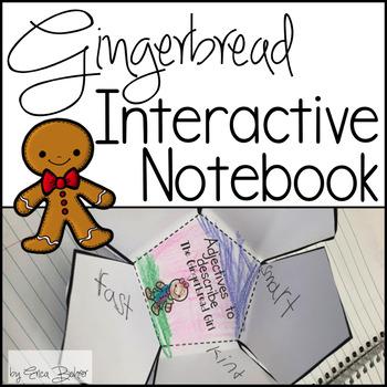 Gingerbread Interactive Notebook
