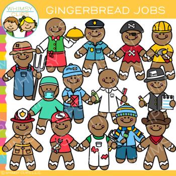 Gingerbread Jobs Clip Art