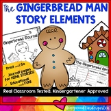 Gingerbread Man Journals!  Explore Story Elements of Favorite Gingerbread Books