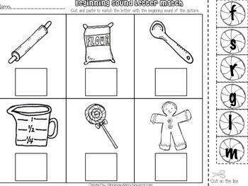 Gingerbread Kid Unit: Language Arts and Math