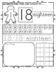 Gingerbread Numbers 1-20 No Prep
