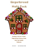 Gingerbread Kindergarten Math Pack