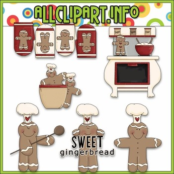 Gingerbread Kitchen Clip Art - Alice Smith Clip Art