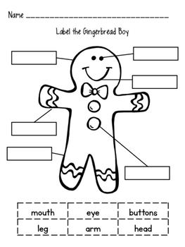 Gingerbread Labeling