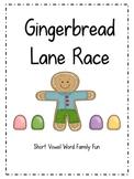 Gingerbread Lane Race