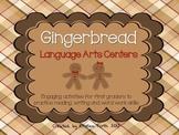 Gingerbread Language Arts Centers