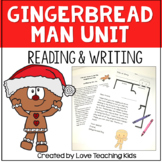 Gingerbread Man Unit- reading and writing activities Bundle