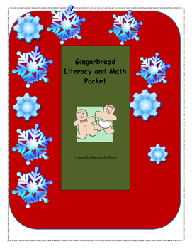 Gingerbread Language and Math packet