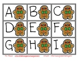 Gingerbread Letter Identification