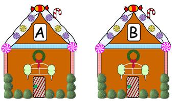 Gingerbread Letter Match