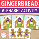 Gingerbread Alphabet Matching Activity for Preschool, Pre-